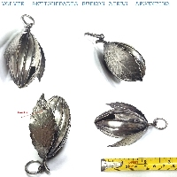Interesting old silver 800 fruit shape rattle FREE SHIPPING WORLDWIDE !