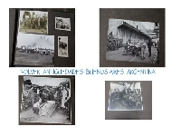 Interesting old photo album tannery office warehouse port Buenos Aires 1940 and other photos