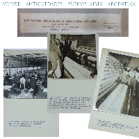 The Daisho Commercial  Industrial Tokio Japan HISTORICAL Textil album photo