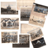 Very interesting rare lot of 24 Russian Communist historical Paris Commune press photos Moscow