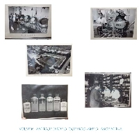Madaus  Co laboratory 30 RARE vintage photos OMS Argentine pharmacy