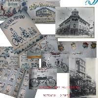 Interesting old famous DOMINICIS argentine house bike bicycle catalog photos clipping