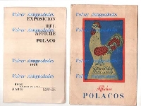 Affiches Polacos Poland posters catalog Argentine exhibition 1956
