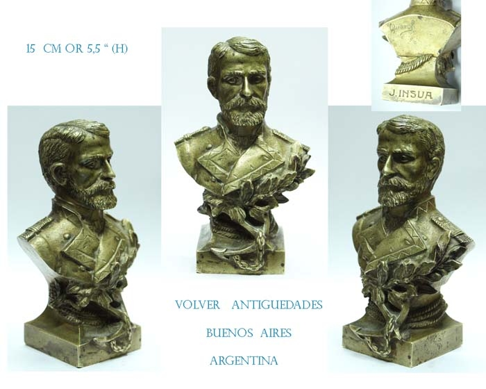 Arte / Art   Agustin Querol old desk bronze J. Insua 15 cm or 5,5´´ VENDIDO / SOLD