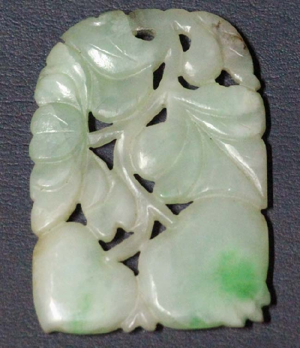 Antiguedades / Antiques   Nice antique chinese jade pendant