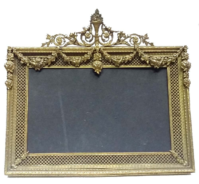 Antiguedades / Antiques   Beautiful & rare rectangular shape antique bronze french picture frame 9 ´´ x  9 ´´ VENDIDO / SOLD