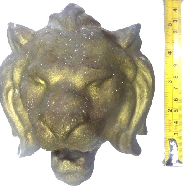 Antiguedades / Antiques   Antique iron pair of lion head fountain leon fuente VENDIDO / SOLD