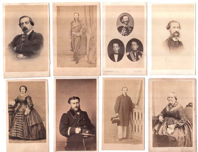 Fotos / Photos   CDV photos lot of 82 Spain England France Manila
