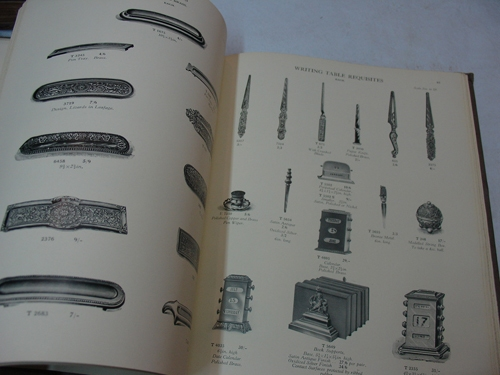 Catalogos / Catalogs   ART METALCRAFT fireside gong writing inkstands lecterns catalog 1924  148 pages