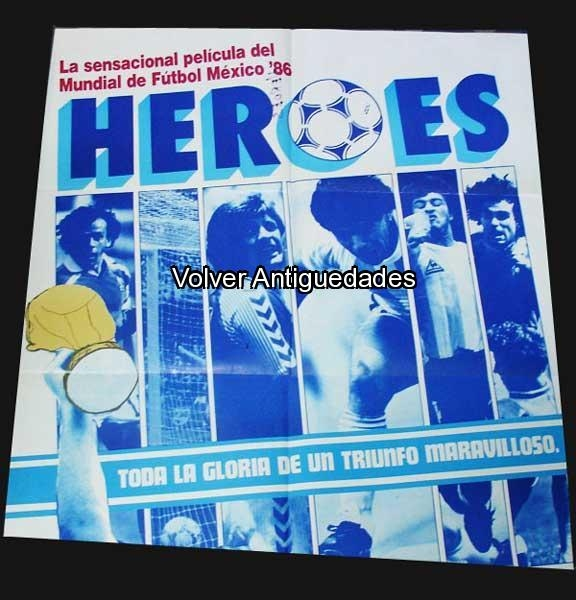 Deportes / Sports   Poster pelicula HEROES